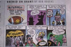 Roethlisburger Cartoon - Peppi's #7
